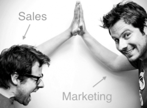 sales and marketing communication - building the bond