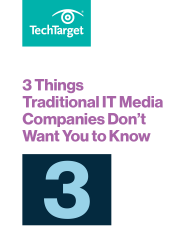 3 Things Traditional IT Media Companies Don't Want You to Know