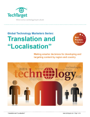 "Translation and ""Localisation"" White Paper"